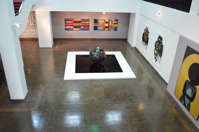 Installation shot - Jamaica Biennial - Deborah