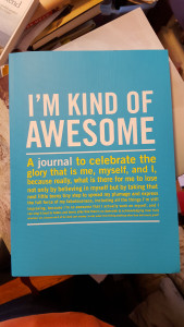 No, *you're* kind of awesome.