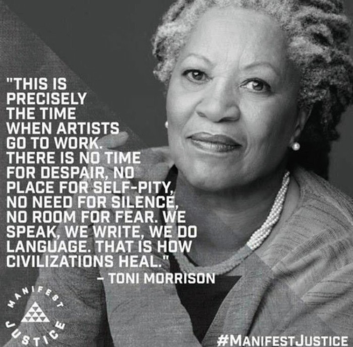 Toni Morrison - fullPOWER language